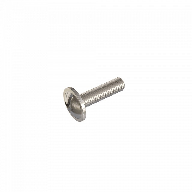 FURNITURE HANDLE MACHINE SCREWS M4x15 / NICKEL